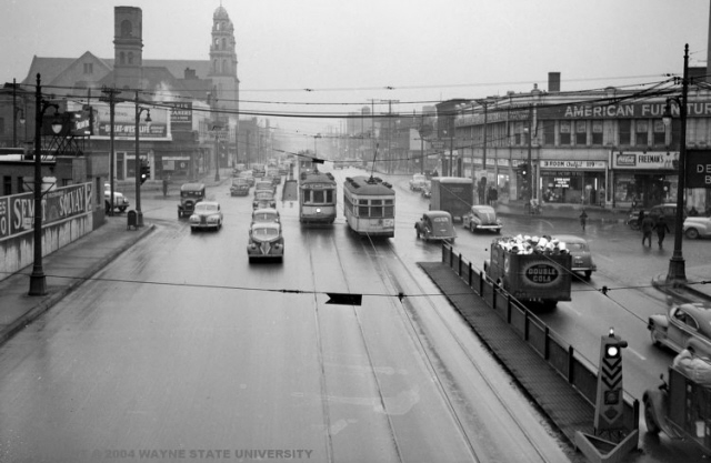Grand River Flow >> Detroit Transit History Info Grand River Ave Rubber Tired