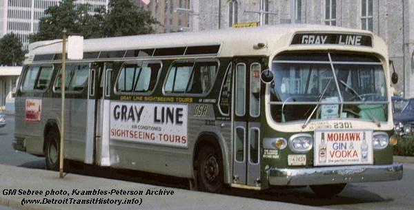 DETROIT TRANSIT HISTORY info: Bus Photos 1960's - Pg 1