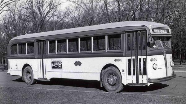 Detroit Transit Bus Photos 1940 39 S Pg 1