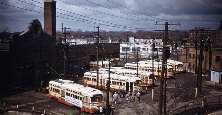 Detroit Transit History Info Detroit Pcc Pt 5