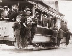 1921 : Electric Streetcars Begin Operating in Detroit
